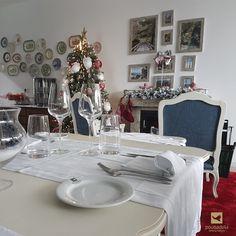 As mesas estão prontas para a maior festa do ano na Pousadela Village!  #anonovo #festa #pousadelavillage