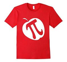 """Men's Funny Apple Pi T-Shirt 