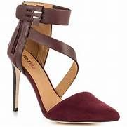JustFab JF Bianca Burgundy Women Shoes | Shoes Blogg