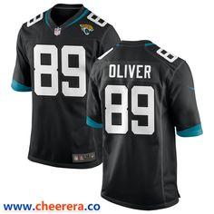 Jacksonville Jaguars #89 Josh Oliver Draft Game Jersey - Teal