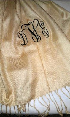 Pashmina Wrap by CarriageFinds on Etsy, $55.00