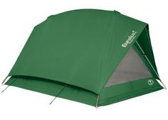 Amazon.com : Eureka! Timberline 2 - Tent (sleeps 2)  This design has been very popular with Boyscout troups over the years, and my first backpacking tent was a knockoff of this.  It's an enhanced variation on the old pup tent.  There isn't as much shoulder room as a dome tent but if you can find one for a good price it will serve you for many years.