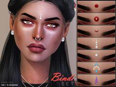 Bindi Set N41 by Pralinesims at TSR • Sims 4 Updates