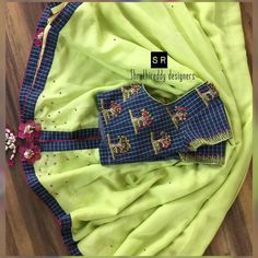 Blouse Designs Catalogue, New Blouse Designs, Pattu Saree Blouse Designs, Saree Blouse Patterns, Blouse Models, Saree Models, Maggam Work Designs, Blouse Styles, Saree Styles