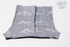 無料パターンとMelly縫っによって7男の赤ちゃんのロンパースステップ