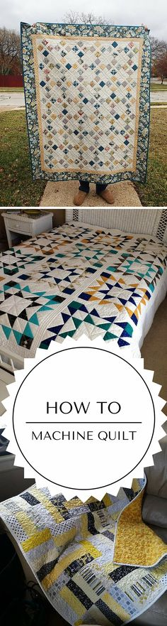 Learn easy machine quilting designs in this online video tutorial