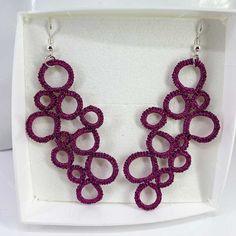 """Ohrringe """"Bubbles"""" Jewelry, Threading, Ear Piercings, Silver, Patterns, Schmuck, Jewlery, Jewerly, Jewels"""