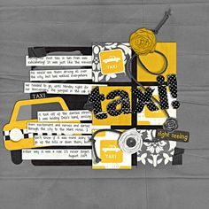 Digital Scrapbook Kit - Great Escape: New York | WM[squared] Designs