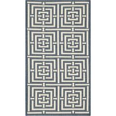 Safavieh Courtyard Ariana Power-Loomed Indoor/Outdoor Area Rug or Runner, Beige