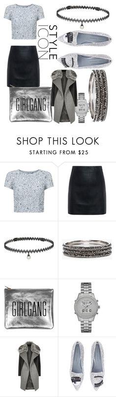 """""""Why cant we be fabulous on a beautiful Sunday 👑💥💥💥"""" by my-803fashion ❤ liked on Polyvore featuring Adrianna Papell, McQ by Alexander McQueen, BERRICLE, Chico's, Sarah Baily, GUESS, River Island and Chiara Ferragni"""