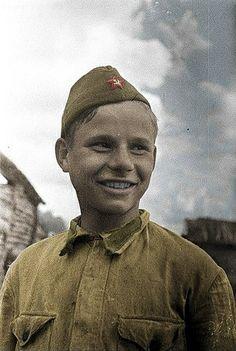 Soviet child soldier