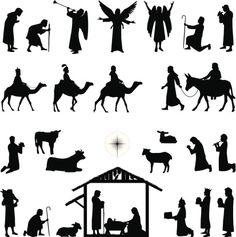 Natividade - ilustração de arte em vetor