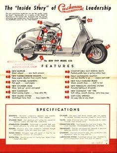 1950 39 s allstate motor scooters allstate cushman. Black Bedroom Furniture Sets. Home Design Ideas