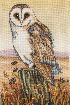 Owl Horizon - Cross Stitch Kit