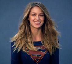 Melissa Benoist is Supergirl.
