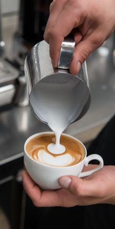 is latte art hard