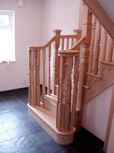 Case Study - High Pastures Volute Ash Staircase Timber Stair, Banisters, Glass Panels, Case Study, Ash, Stairs, Traditional, Home Decor, Gray