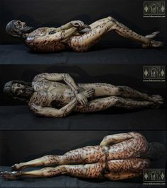 """Our Tortured Christ based, based on the Shroud of Turin, this image is displayed at La exposición """"La Sábana Santa"""""""
