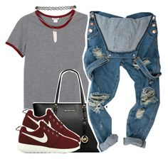 11/07/15 by clickk-mee on Polyvore featuring polyvore, fashion, style, Monki, NIKE, Michael Kors and Wet Seal
