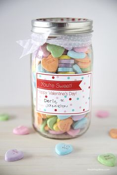 """You're sweet"" Valentine's Day free printable"