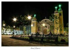 Templo y atrio Sagrada Familia, San Miguel el Alto Jalisco.