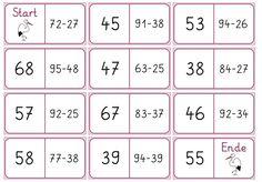 hier jetzt auch noch die kleinen Dominos   für die Kinder, die immer schon mehr können,   als sie müssen...     LG Gille   Schrift: Grundsc...