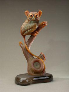 Lemur Gemstone Carving Art