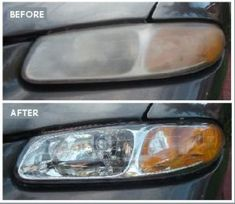How to Remove Oxidation From Polycarbonate Headlight Lenses. The good news is that in many cases, if you catch this damage early enough; your headlights can be restored. Clean Headlights With Toothpaste, Polish Headlights, Cleaning Headlights On Car, Foggy Headlights, Best Headlights, How To Clean Headlights, Headlight Restoration Diy, Headlight Lens, Car Polish