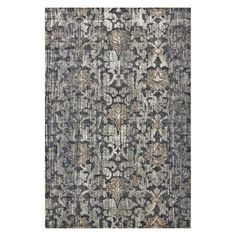 Give your traditional home a rustic elegance by laying the Room Envy Margaux Indoor Area Rug down on your floor. This floral area rug boats a distressed. Floral Area Rugs, Beige Area Rugs, Machine Made Rugs, Transitional Rugs, Rectangular Rugs, Indoor Rugs, Carpet Stains, Accent Rugs, My Living Room