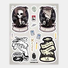 Xfile Stickers | HUMAN | T-Shirts, Tanks, Sweatshirts and Hoodies