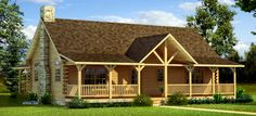Featured Plan - Southland Log Homes