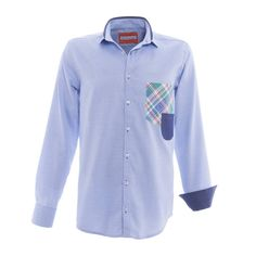 """BB Chum shirt """"Blue Oxi"""""""