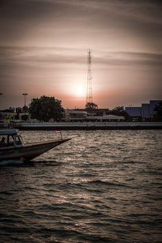 Night Boat, Bangkok, Thailand