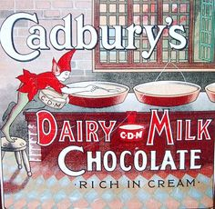 Vintage Advertising Posters | Cadburys Chocolate