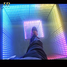 3D Video Acrylic DMX Interactive Pictures Professional Stage Lights Up Portable Used Led Dance Floor For