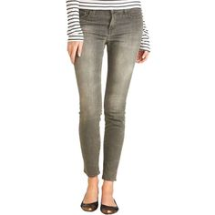Pre-owned J Brand Skinny Jeans ($103) ❤ liked on Polyvore featuring jeans, grey indio, gray skinny jeans, denim jeans, skinny fit jeans, j brand and grey jeans