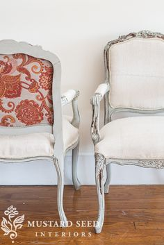 This reveal is a little anticlimactic, since you've already seen what one finished chair looks like and they are twins, so the other one looks pretty much the same.  As with all identical twins, though, there are some subtle differences, so I thought it was worth giving them both a proper introduction. I'm going to totally brag on my student ... Read More