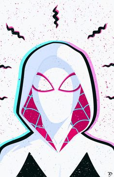 Gwen - Spider-Man, Into the Spider-Verse - Amazing Spiderman, Spiderman And Gwen, Black Spiderman, Spiderman Spider, Spider Gwen, Marvel Avengers, Marvel Art, Marvel Heroes, Ms Marvel