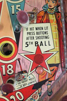 Vintage Arcade Games by The Big Crafty, Asheville, via Flickr