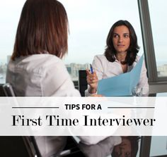 Tips For A First Time Interviewer | Levo League | Career Tips