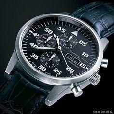Maurice de Mauriac - Atelier // Zurich Watch Manufacture // Chronograph Modern