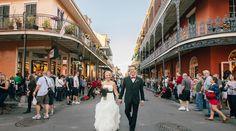 5 Stunning French Quarter Wedding Venues in New Orleans on Borrowed & Blue. Wedding Pics, Wedding Vendors, Wedding Bells, Wedding Stuff, Wedding Ideas, Mcqueen, Courtyard Wedding, Romantic Honeymoon, New Orleans Wedding