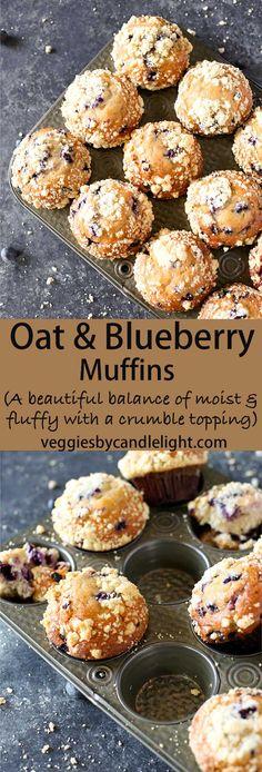 Oat & Blueberry Muff
