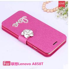 New Wallet Case for A858T A858 A858W Fashion shockproof Mobile Phone Bag Cases For Lenovo A858T A858 A858W Flip Case Cover  #Affiliate