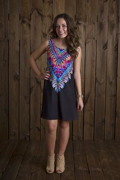 You're Glowing Dress BLACK - Uptown Girl Boutique