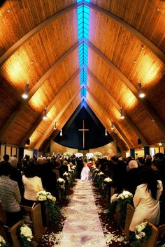 church wedding photo shoots, ivory white flower petals aisle decor #2014 #home decor #ideas #Easter #spring wedding #Craft #food www.dreamyweddingideas.com