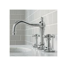 Martha Stewart Living Seal Harbor 8 In Widespread Faucet In Polished Nickel F2018 22c
