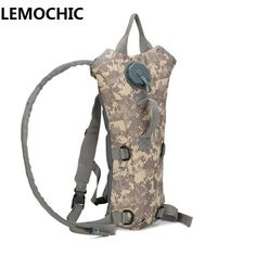 Outdoor Camping Camelback 3l Water Bag Nylon Camel Water Bladder Bag For Cycling To Make One Feel At Ease And Energetic Molle Military Tactical Hydration Backpack