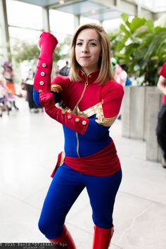 Captain Marvel - Pax Prime 2015 - Photo by David Ngo