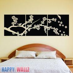 love this idea! ...cherry blossom branch wall decor  Housewares - Etsy